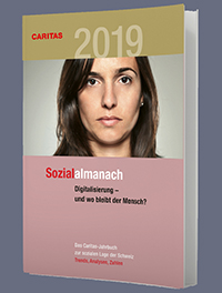 Cover des Caritas-Sozialalmanach 2019 aus der Schweiz