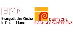 Logos der EKD und DBK