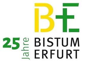 Logo des Bistums Erfurt zum 25-jährigen Jubiläum