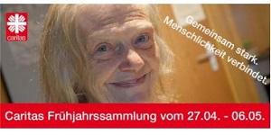 Plakat der Frühjahrssammlung 2019: lächelnde ältere Dame