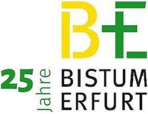 Logo des Bistums Erfurt zum 25jährigen Jubiläum